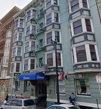 Ansonia Hotel San Francisco 1